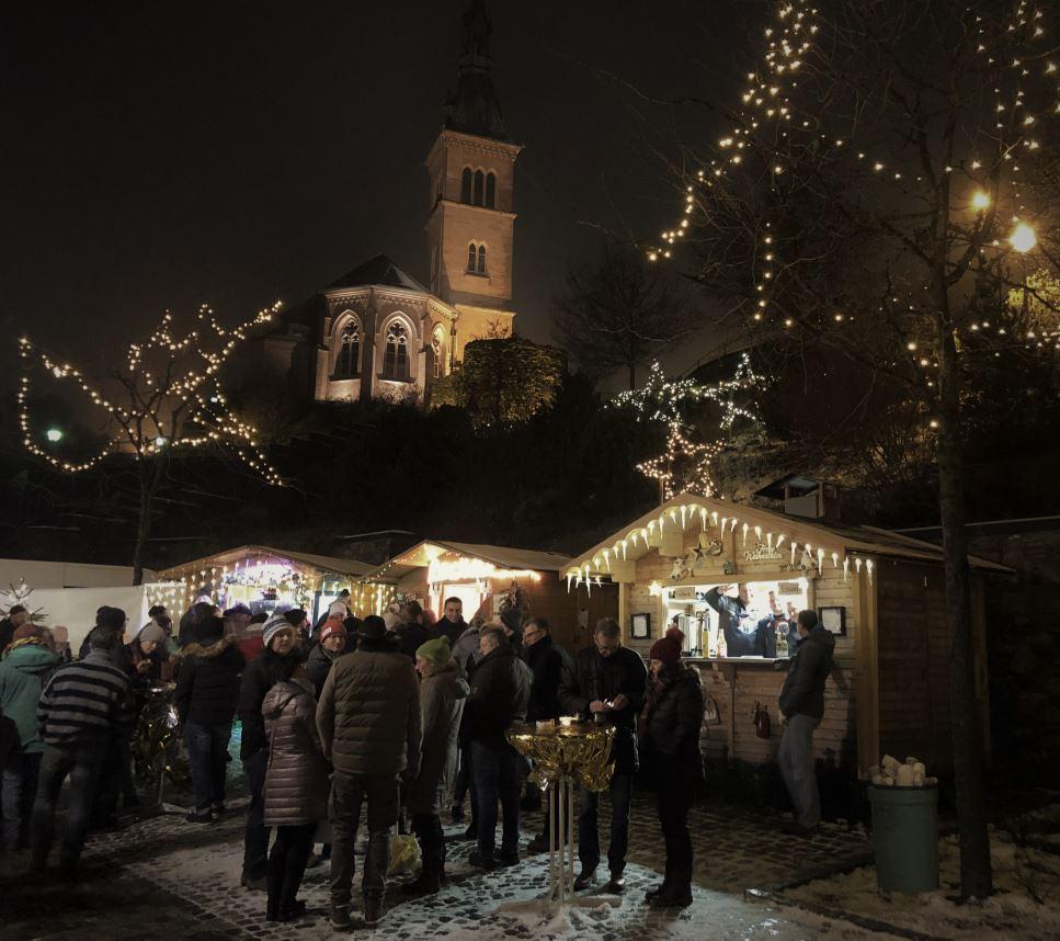 Weihnachtsmarkt Laufenburg.Fc Binzgen
